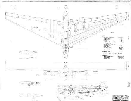 Unbuilt B 52s