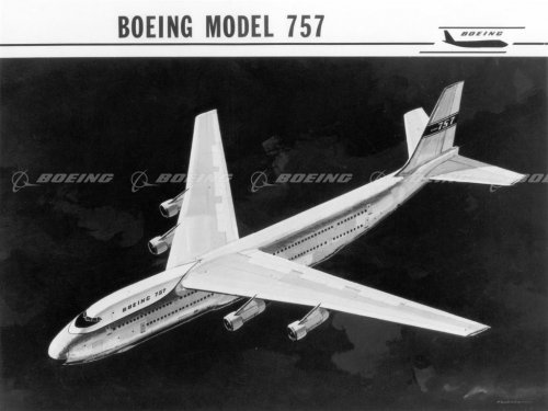 Boeing Images - Early Concept of the 757.jpg