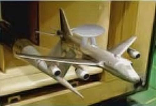 P-1 AEW wind tunnel model.jpg