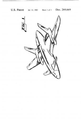 Lockheed Georgia Omega Sternwheeler Cargo Aircraft