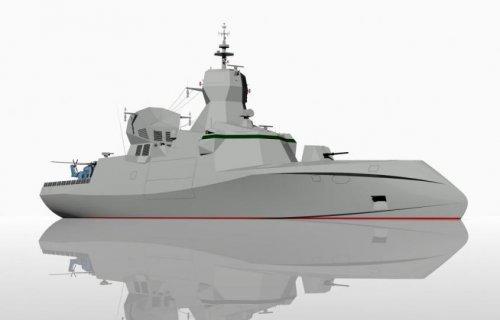 CMN Group C Sword 90 stealth corvette | Secret Projects Forum