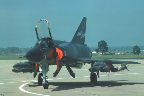 RAAF Mirage III with TK-500.jpg