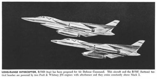 The B-58 A B C E version | Secret Projects Forum