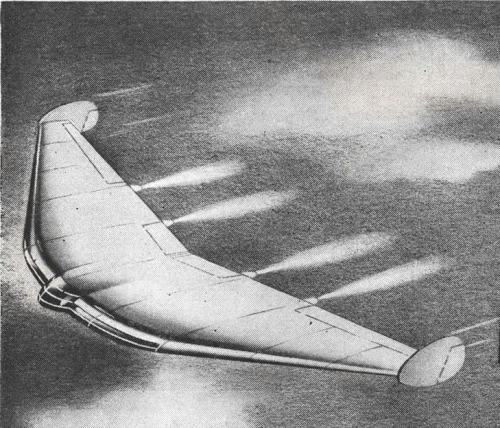 Lockheed Hypothetical Blended-Wing Tailless Aircraft of 1945 ...