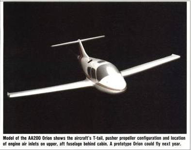 Aerodis America/CRSS Orion, Rigel and Theta projects