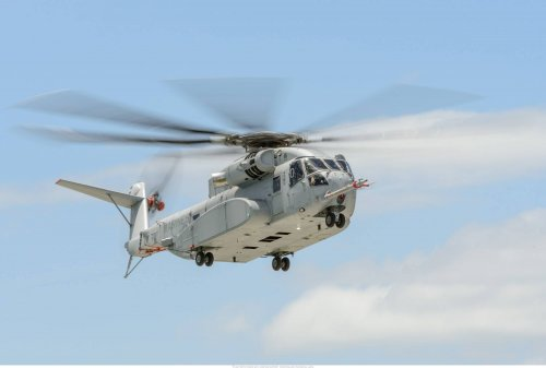 The third USMC CH53K has completed its first flight and joined the flight test program.jpg
