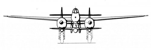 Twin engine Archer with Lightning front view.jpg