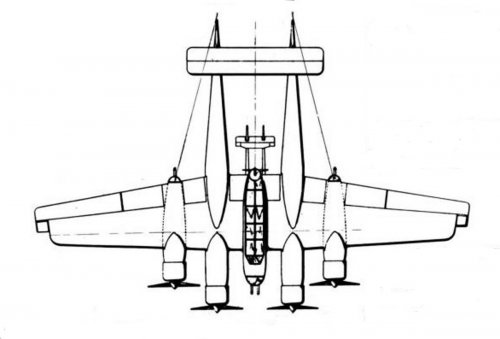 Four engine Archer with Lightning plan view.jpg