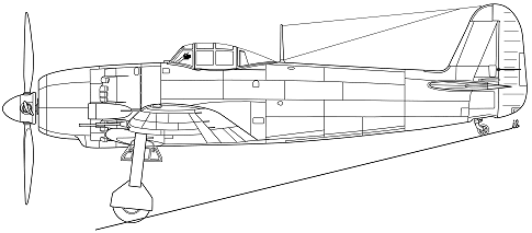 Kawanishi 20-shi Ko-fighter proposal speculative side view.png