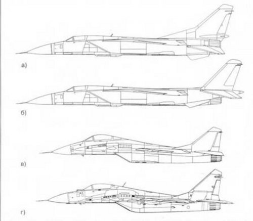 Change the appearance of the MiG-29 during the design process.jpg