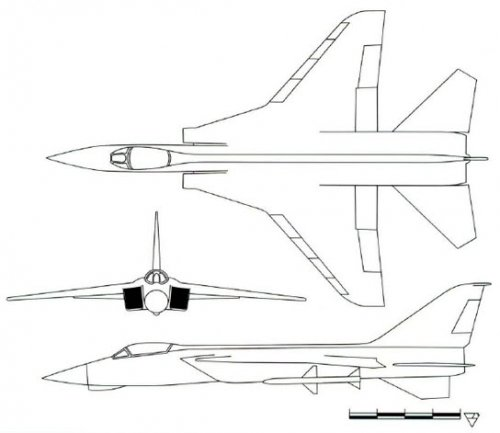 MIG-29 on conceptual design stage in 1971.jpg