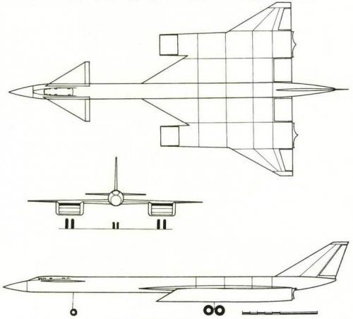 Projection of the T-4 aircraft represented in Avanproekte (No. 10 in the diagram on page 18).jpg
