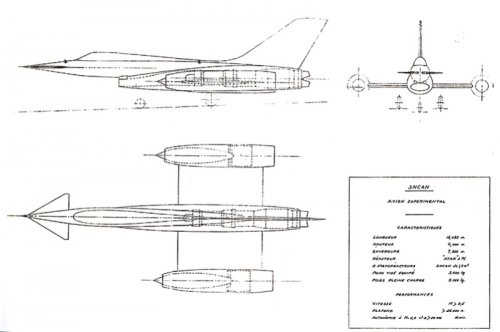 Nord 1520 Griffon III  version 1 Super Atar + 2 statos  Mach 3.jpg