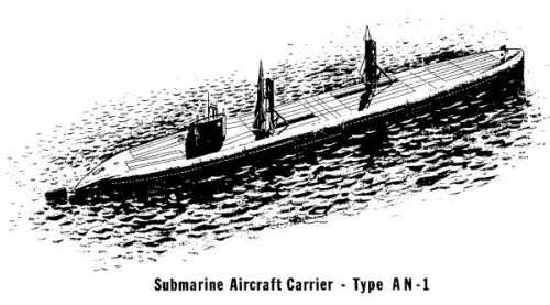 Cold war Submarine Aircraft Carriers Projects  | Secret Projects Forum