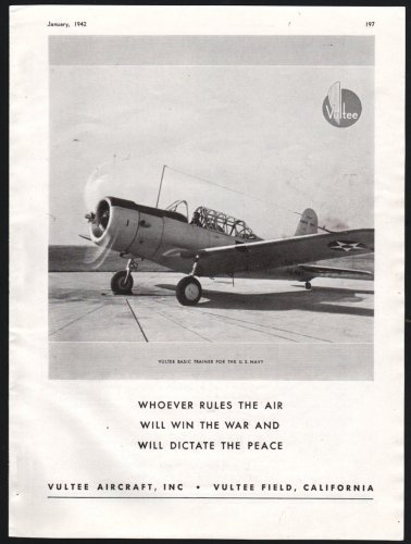 1942 Vultee Basic U.S. Navy Aircraft Trainer.jpg