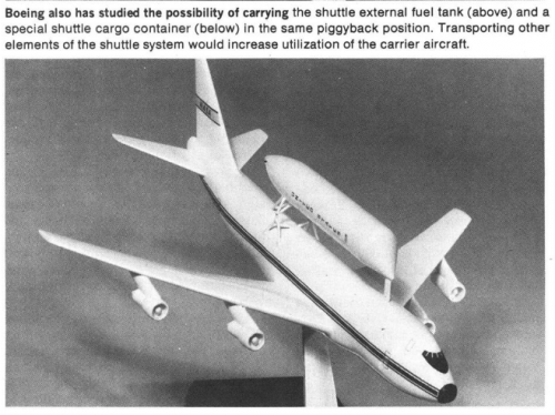 Space Shuttle Carrier Aircraft Projects | Page 2 | Secret Projects Forum
