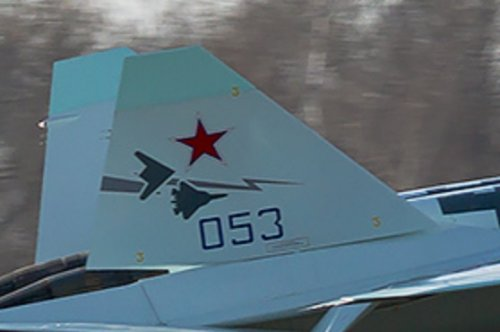 RuAF Su-57 053 new colour scheme + Okhotnik silhouette part.jpg