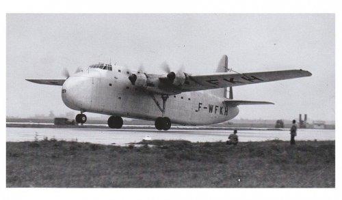Cover - F-WFKH - S.N.C.A.C NC-211 Cormoran - 19th April 1949 - Le Bourget.......jpg