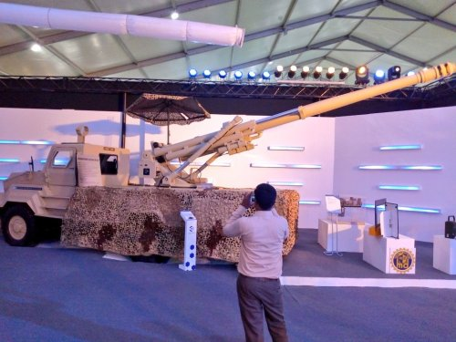 Brutus 155mm truck-mounted howitzer | Secret Projects Forum