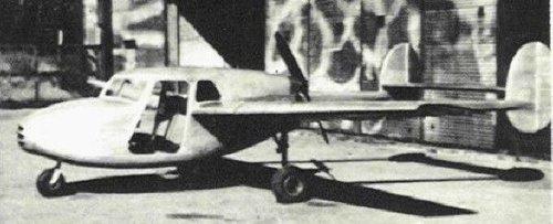 Roussel Model 40 Hirondelle ex SCAN 40 Scanton 1947 never flew.jpg