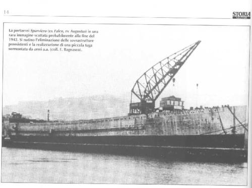 RN Sparviero rebuilding