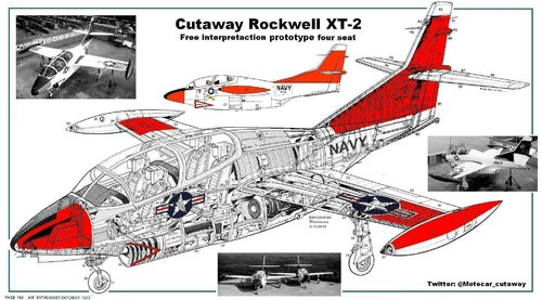 Cutaway Rockwell XT-2 four seat in colour.JPG