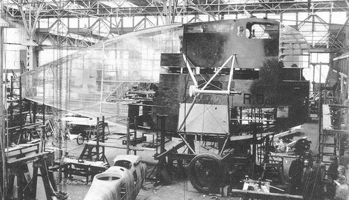 Linke-Hofmann R_1 being covered with Cellon.jpg