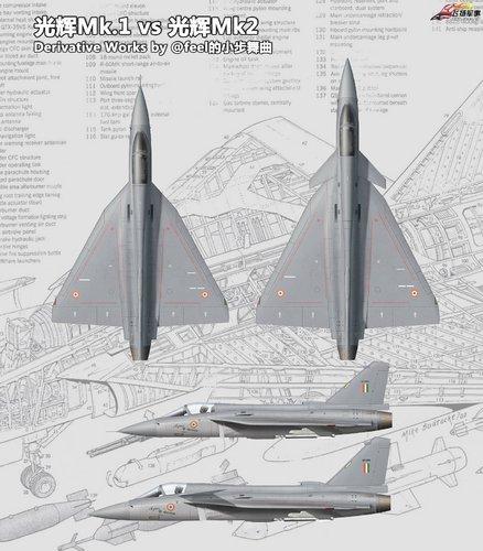 HAL LCA + MCA Tejas Mk. 1 + Mk. 2.jpg