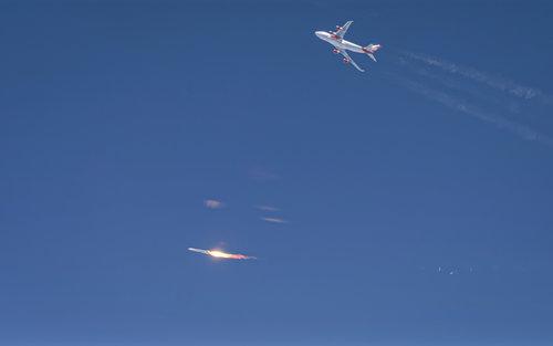 Virgin Orbit ignites LauncherOne rocket.jpg