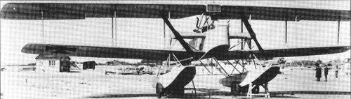 DE Friedrichshafen FF-40 patrol floatplane 1 engine 2 props 1 built 1916.jpg