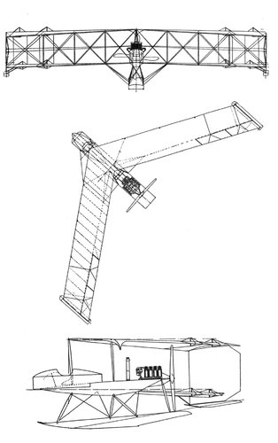 Burgess Dunne Hydro Byplane three side view drawing.jpg