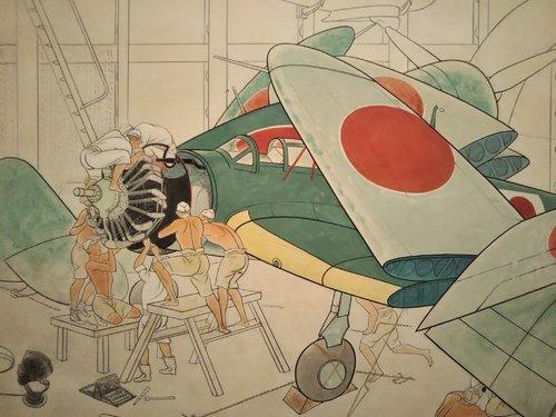 Japanese WW2 aviation art 2 detail.jpg