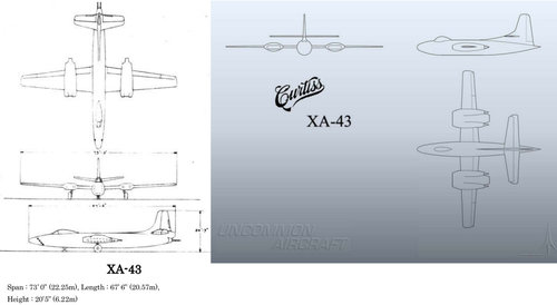 XA-43 three side view drawings.jpg