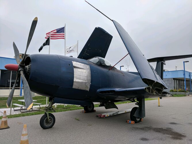 Curtiss XF15C BuNo 01215 on display at Hickory Aviation Museum NC.jpeg