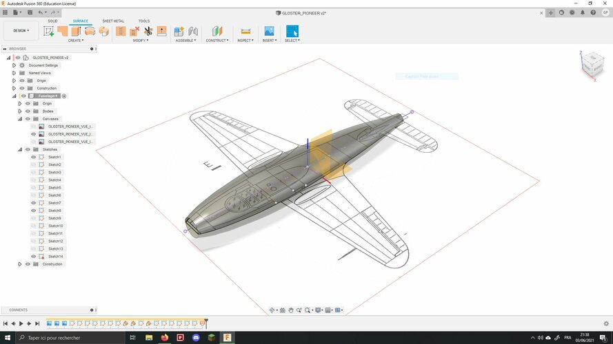 Gloster Pioneer 3D Fusion360.JPG
