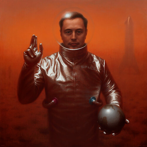 Painting of Elon Musk on Mars by Conor Walton.jpg