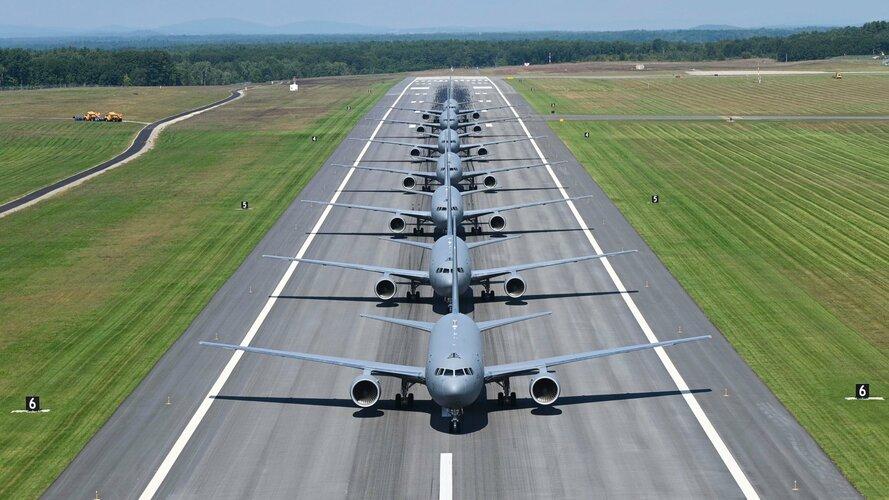 045US Air Force 157th Air Refueling WingPease Air National Guard BaseKC46A.jpg