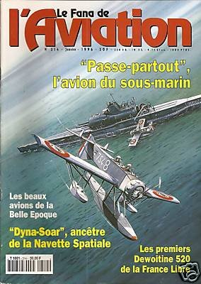 LE FANA DE L'AVIATION Dyna-Soar article - worth to have