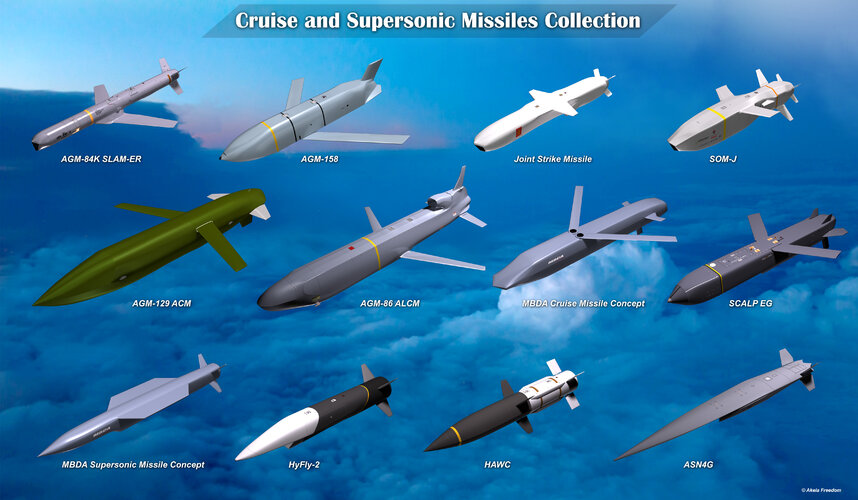 Cruise and Supersonic Missiles Collection.jpg