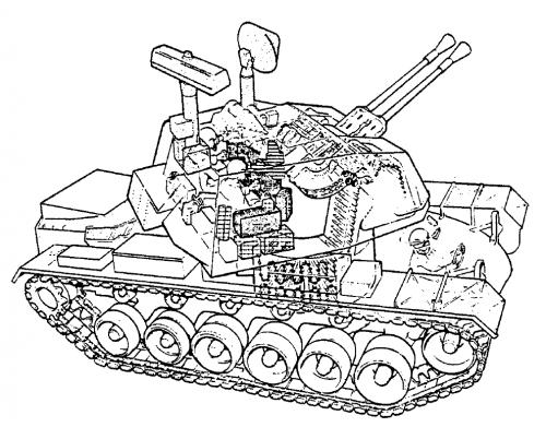 Humvee In Combat