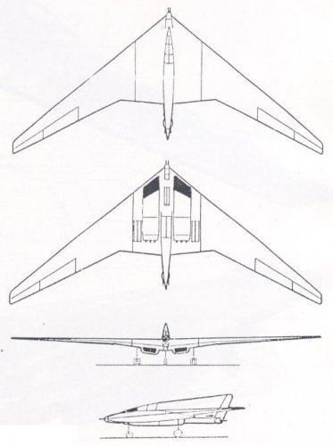 Horten Ho Xviii And Other Long Range Bomber Projects