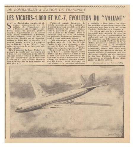 Vickers VC7 - Les Ailes No. 1,415 - 14th March 1953.......jpg