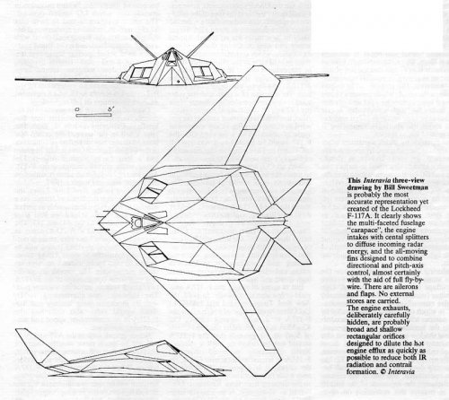 F 117a Stealth
