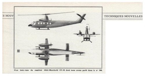 SIAI-Marchetti SV-20 compound helicopter project - Aviation Magazine International - No.jpg