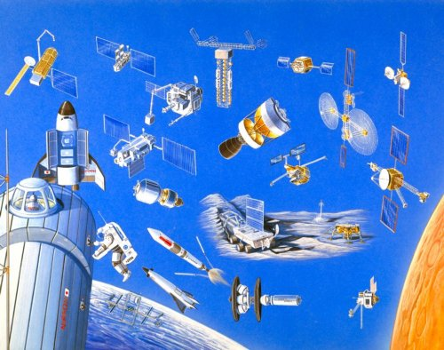 Various space systems of the future - P-019-05707.jpg