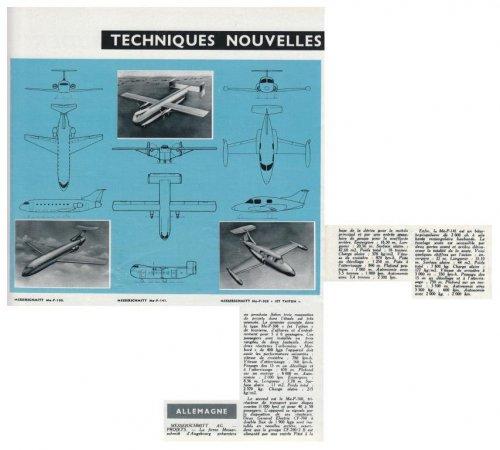 Messerschmitt P 141 & P 160 | Secret Projects Forum