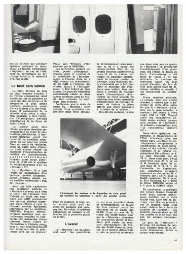 Avions Marcel Dassault Mercure mock-up - Aviation Magazine International - No.jpg