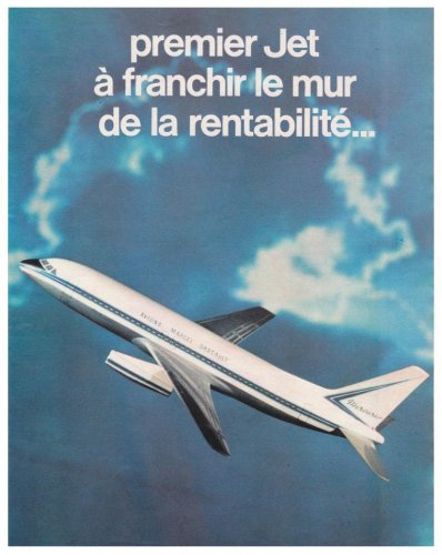 Avions Marcel Dassault Mercure advertisement - Aviation Magazine International - No.jpg
