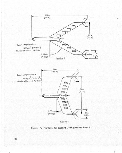 Lockheed Georgia Spanloader Aircraft Studies