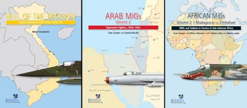 New Harpia Publishing The 1967 War Arab MiGs Volume 3
